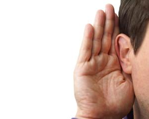 Man Listening Image