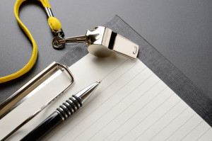 Whistle with Notepad